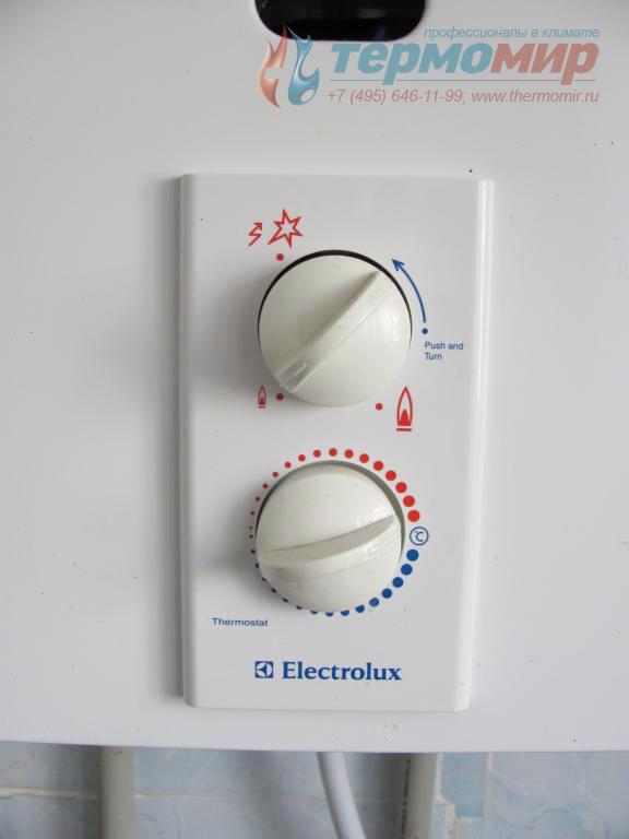 Газовая колонка electrolux инструкция по настройке