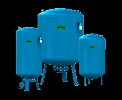 Мембранный напорный гидробак grundfos емкостью 120 л